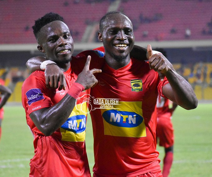 Report: Asante Kotoko 3-1 Bechem United- Porcupines devour Hunters in Accra  - Football Made In Ghana
