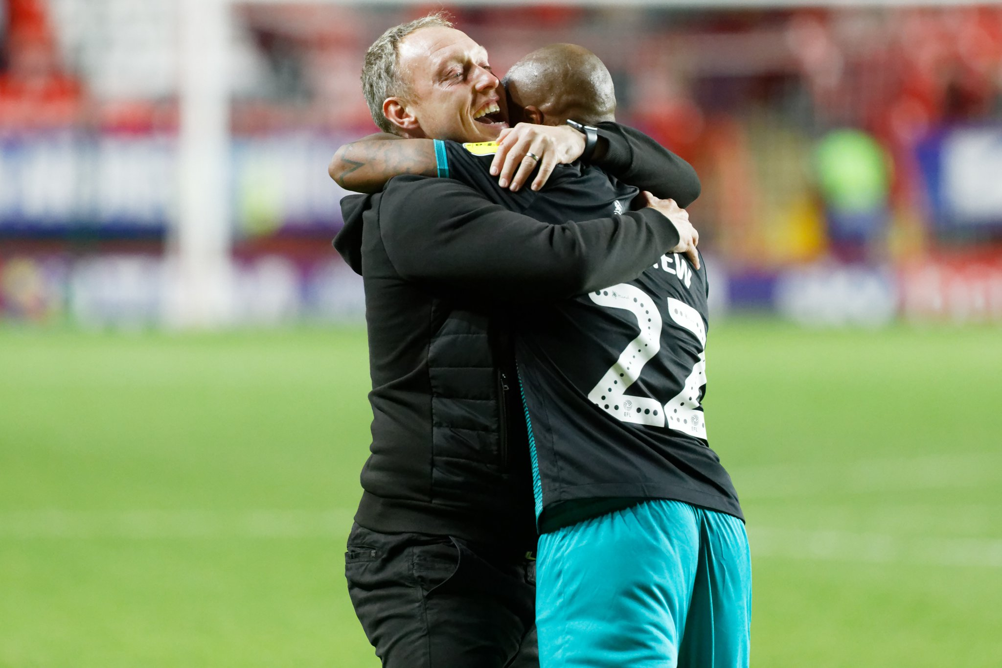 Andre Ayew backs 'inexperienced' Steve Cooper to be great coach in ...