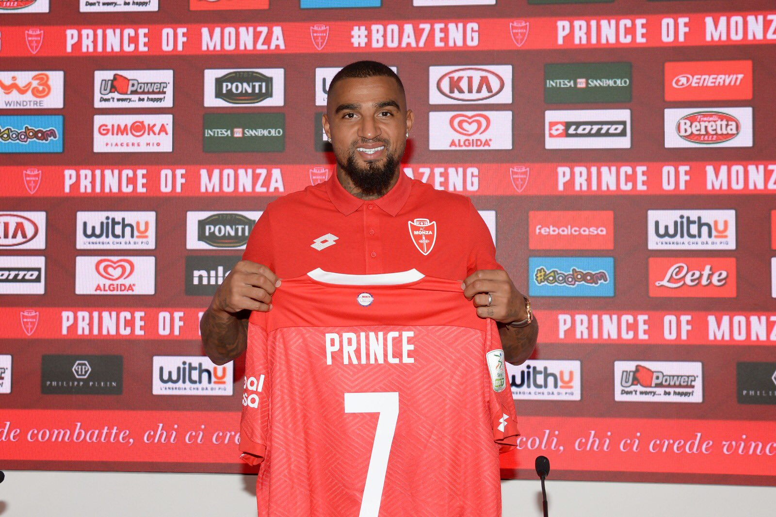 The Prince of Monza'- KP Boateng unveiled by Serie B outfit AC Monza - Football Made In Ghana