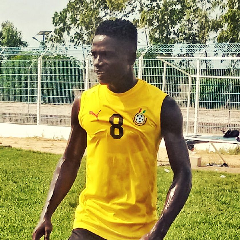 Black Satellites midfielder Emmanuel Essiam disappointed by the cancellation of FIFA U-20 World Cup