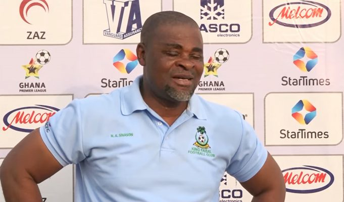King Faisal coach Andy Sinason blames defender Razak Toufik for defeat against Eleven Wonders
