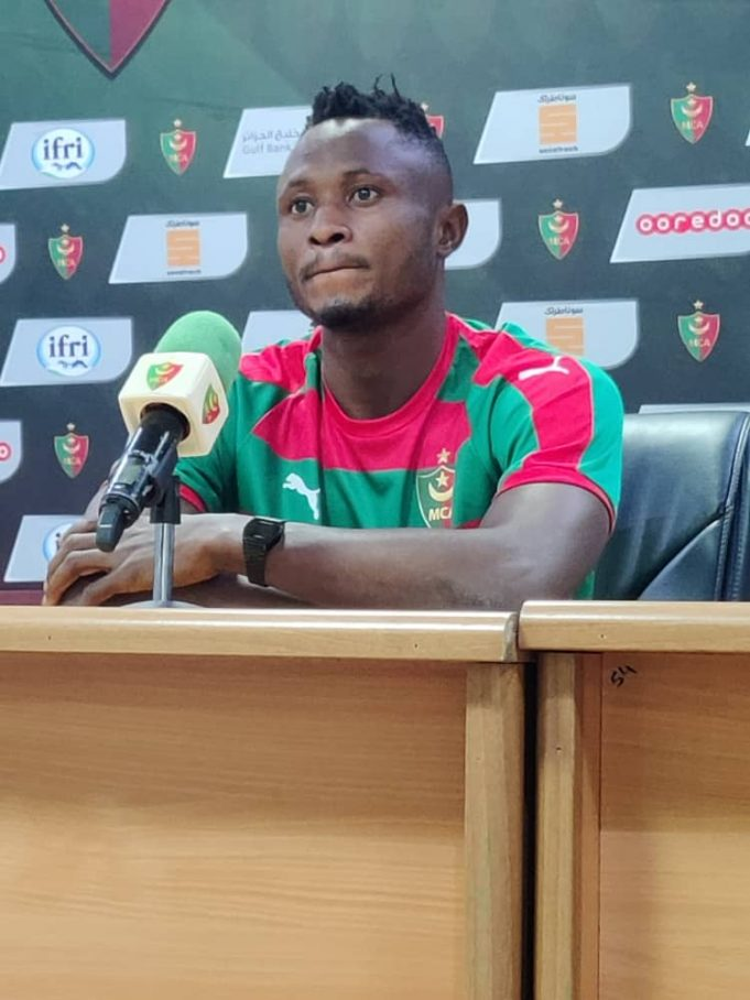 Joseph Esso happy to join Algerian side MC Algers