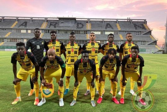 C.K Akonnor makes 5 changes to Black Stars XI to face Ivory coast